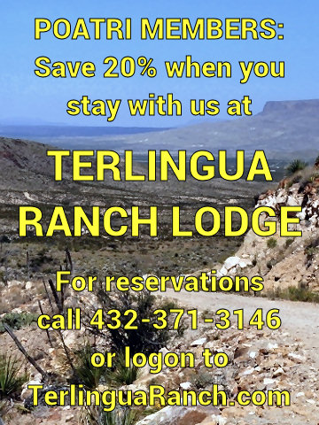 Terlingua Ranch Lodge   POATRI Member Discount
